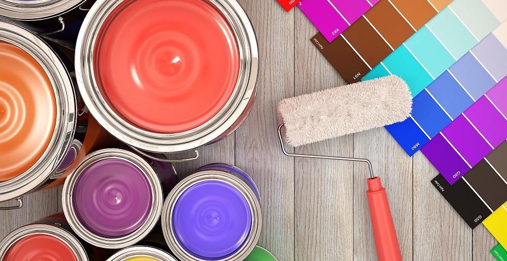 Farba lateksowa – zastosowanie