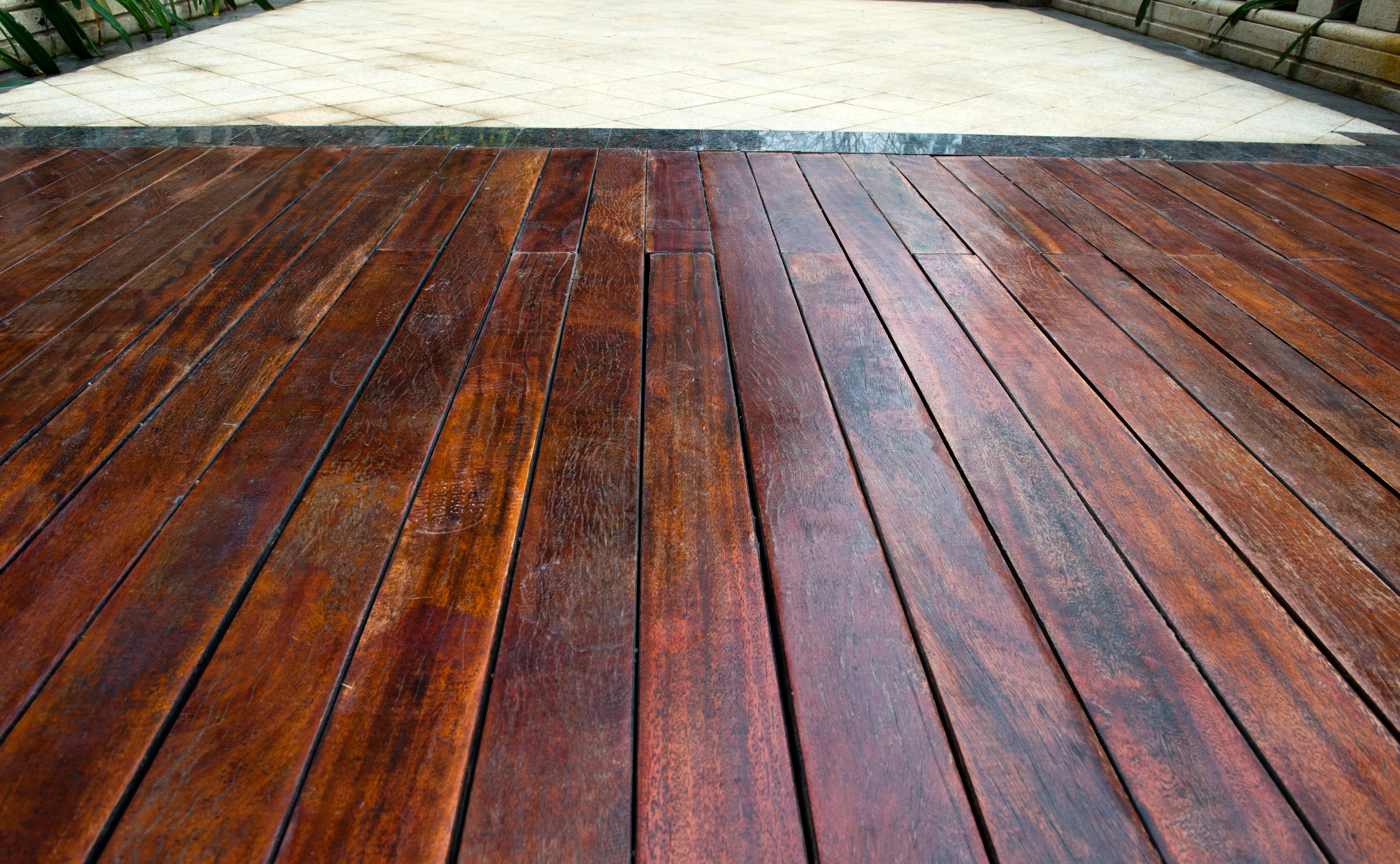 Podłoga z drewna